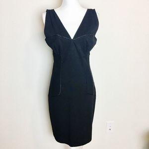 Diane von Furstenberg Black Twila Dress